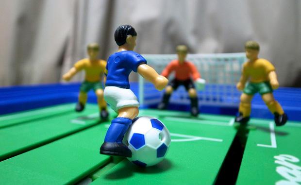 Toy footballers. Kuva: mxmstryo (CC BY 2.0)